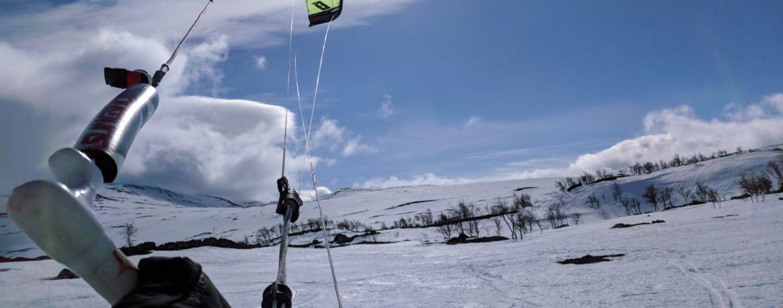Kitesurfing Kittelfjäll